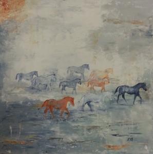 Au pays d'équus n° 140 x 40