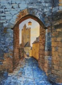 Porte Veuva Beynac70 x 50