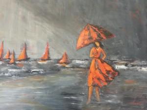 Ombrelles et Parapluies n° 14 50 x 70