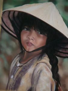 Petite Vietnamienne40 x 50