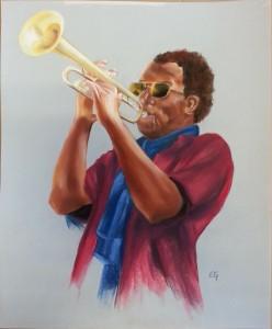 Trompettiste60 x 50