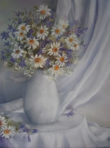 Bouquet des champs 40 x 50